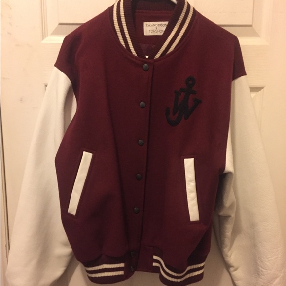 J.W. Anderson Jackets & Blazers - JW Anderson for Topshop wool varsity jacket size12